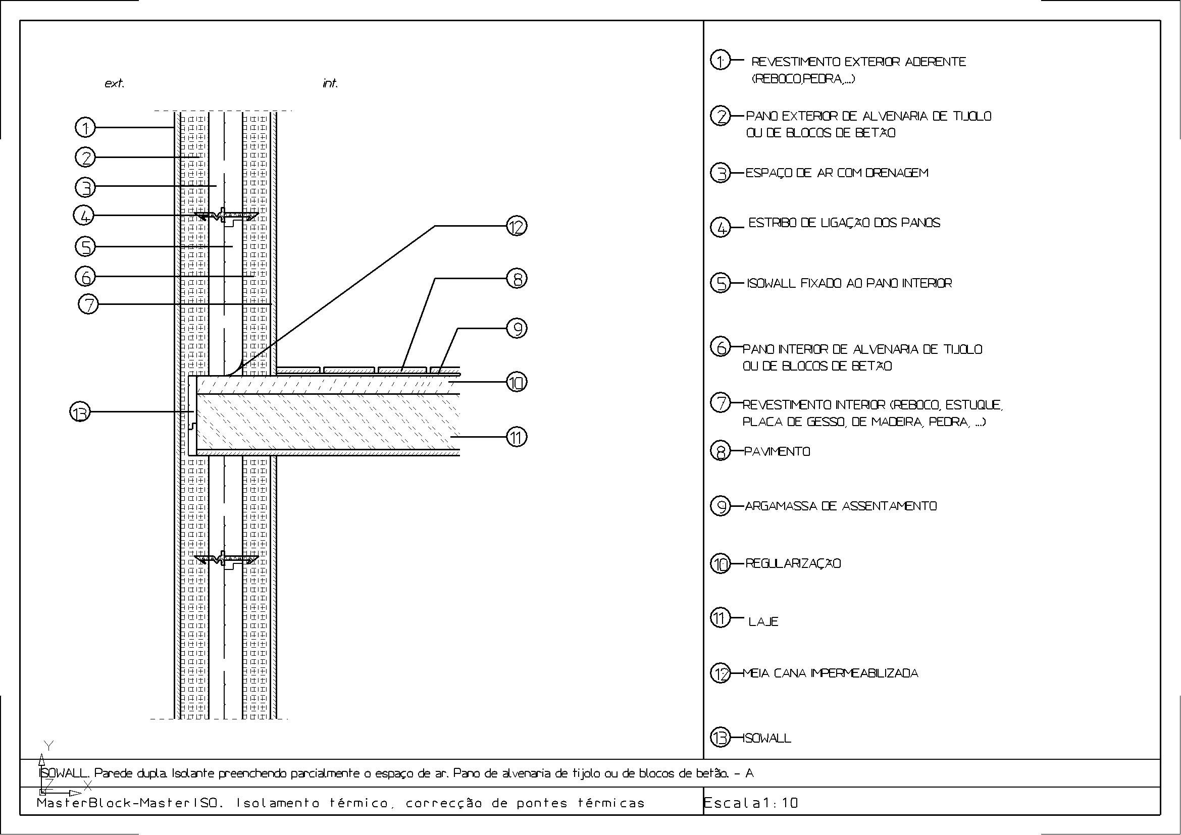 Detalhes CAD de MASTER ISO MASTERBLOCK #454545 2339 1654